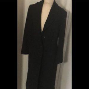 100 percent wool Zara long trench coat